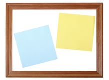 Esconda la nota Fotos de archivo libres de regalías