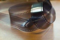 Esconda la película de 35m m Imagen de archivo libre de regalías