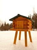 Esconderijo de Alaska fotografia de stock