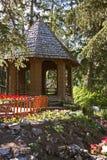 Escondite del jardín Imagen de archivo libre de regalías