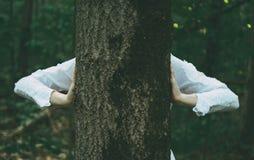 Escondite en naturaleza Foto de archivo libre de regalías