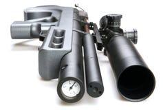 Escopeta de aire comprimido Imagen de archivo libre de regalías