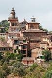 Escorço agradável de Valdemossa, Majorca, Espanha Foto de Stock