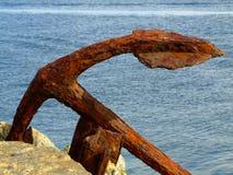 Escora oxidada Imagens de Stock