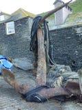 Escora velha oxidada Imagem de Stock Royalty Free