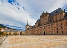 κάστρο escorial Μαδρίτη κοντά στην Ισπανία Στοκ Φωτογραφία