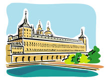 Escorial Stock Image