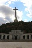 Escorial-Kreuz und Basilic Stockbild