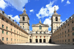 escorial monaster Madrid fotografia stock