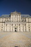 Escorial monastery entrance Royalty Free Stock Photo
