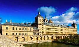 Escorial pałac królewski Zdjęcia Stock