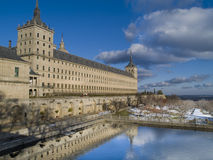 Escorial´s abbey, Madrid, Spain Royalty Free Stock Photography