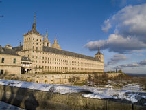 Escorial´s abbey, Madrid, Spain Stock Photography