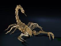 Escorpião do robô do metal Fotografia de Stock Royalty Free