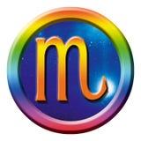Escorpião do sinal da astrologia Imagens de Stock
