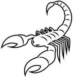 Escorpião - Escorpião Imagem de Stock Royalty Free
