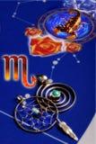 Escorpión astrológico de la muestra Imágenes de archivo libres de regalías