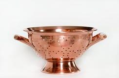 Escorredor de cobre Imagens de Stock Royalty Free