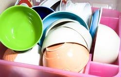 Escorredor de pratos Imagens de Stock Royalty Free
