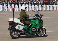 Escort motorized. Presidential escort motorized military parade Stock Image