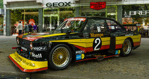 Escorte RS 1800 MK2 de Ford « Zakspeed » de voiture de course Image stock