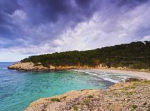 Escorxada Bay on Minorca Stock Photo