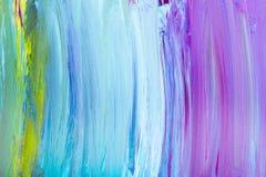 A escova afaga multicolorido Foto de Stock Royalty Free
