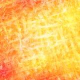 A escova alaranjada abstrata afaga o fundo Fotografia de Stock