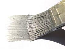 Escova com cor de prata Imagem de Stock