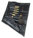 Escova cosmética Fotografia de Stock Royalty Free