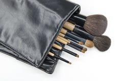 Escova cosmética Imagem de Stock Royalty Free