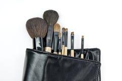 Escova cosmética Foto de Stock Royalty Free