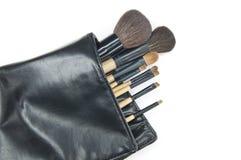 Escova cosmética Foto de Stock