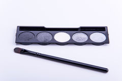Escova cosmética da máscara Fotografia de Stock