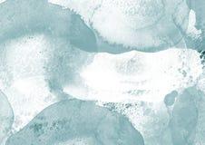 A escova da cor do gráfico de cor da água dos remendos afaga remendos Imagem de Stock Royalty Free