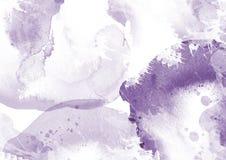 A escova da cor do gráfico de cor da água dos remendos afaga remendos Imagem de Stock