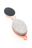 Escova da pedra de polimento Foto de Stock Royalty Free