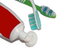 Escova de dentes Foto de Stock Royalty Free
