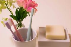 Escova de dentes Imagens de Stock Royalty Free