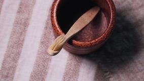 Escova de dentes de bambu de madeira amigável do eco tradicional filme