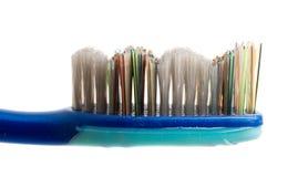 escova de dentes do hygienics isolada foto de stock