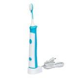 Escova de dentes eletrônica ultrassônica isolada no fundo branco Imagens de Stock Royalty Free