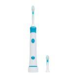 Escova de dentes eletrônica ultrassônica isolada no fundo branco Foto de Stock Royalty Free