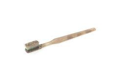 Escova de dentes suja e gastada Fotografia de Stock