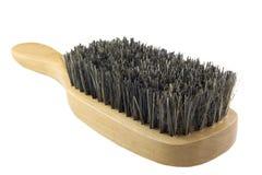 Escova de madeira fotografia de stock royalty free