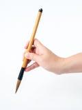 Escova de madeira Imagens de Stock Royalty Free