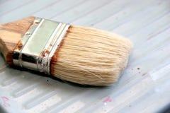Escova de pintura foto de stock royalty free