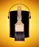 Escova de pintura Imagem de Stock