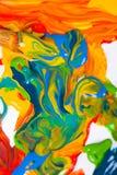 Escova de pintura do artista Imagem de Stock