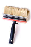 Escova de pintura vermelha Foto de Stock